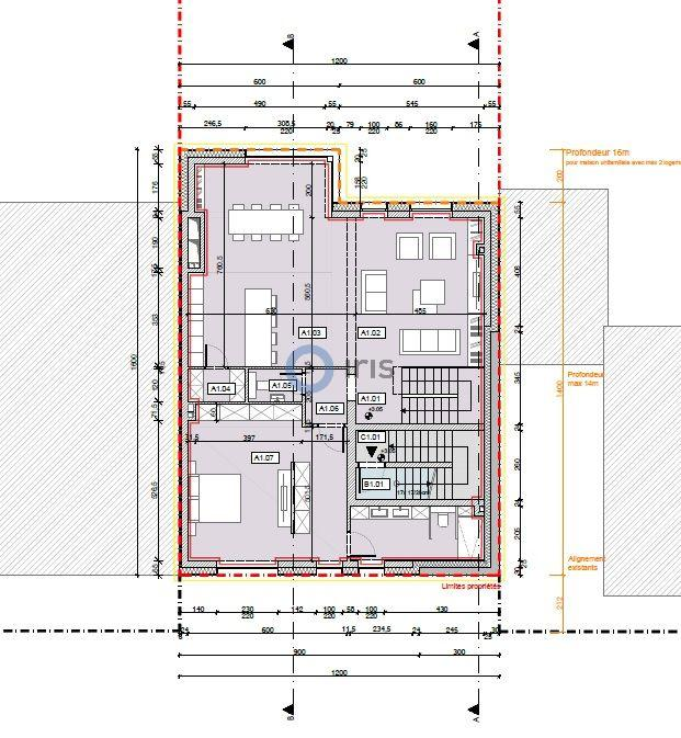 acheter appartement 3 chambres 161 m² mondercange photo 3