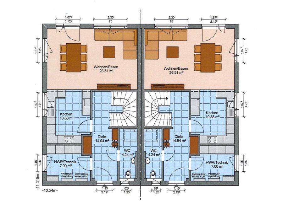 Maison jumelée à vendre 3 chambres à Rambrouch