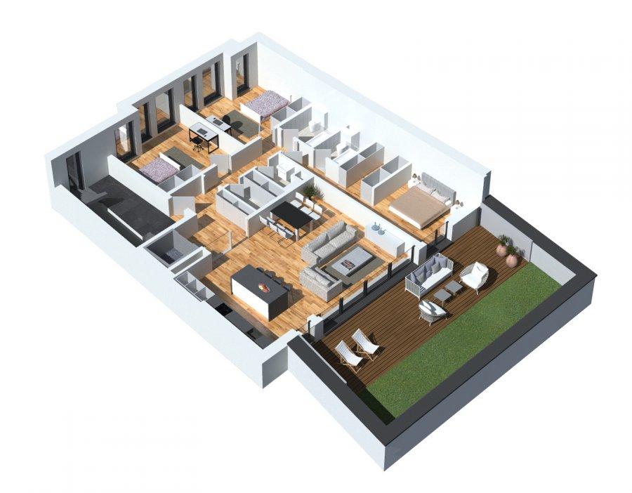 Vous pouvez dès maintenant réserver votre appartement de rêve dans cette résidence !  Appartement  (2-4 chambres)  163.74 m2 vendable avec   135,8m2 net habitable  +Terasse 32.35m2  +Verdure végétale 30m2  +Balcon 10m2   En modulant l'appartement en 3 chambres on obtient:  - Living-séjour-cuisine ouverte ou fermée à 47.7m2  - Hall d'entrée  - Débarras  - Wc séparé  - Salle de douche  - Salle de douche/bain  - Hall de nuit  - Chambre à coucher avec dressing 21.72m2  - Chambre à coucher à 16.98m2  - Chambre à coucher à 17.29m2  - Terasse 32.35m2  - Verdure végétale 30m2  - Balcon 10m2    En modulant l'appartement en 2 chambres on obtient:  - Living-séjour-cuisine ouverte ou fermée à 68,5m2  - Hall d'entrée  - Débarras  - Wc séparé  - Salle de douche  - Salle de douche/bain  - Hall de nuit  - Chambre à coucher avec dressing 19.5m2  - Chambre à coucher aved dressing 15.5m2  - Terasse 32.35m2  - Verdure végétale 30m2  - Balcon 10m2   Possibilité de moduler l'appartement avec 4 chambres à coucher!  Que 3 appartement haut standing dans cette résidence!  Vente en futur état d'achèvement (VEFA)  Actuellement, il est encore possible de changer les dispositions des intérieurs des appartements, c'est-à-dire tailles des différents pièces ( living/ chambres/SBD/SDD) etc !!!  Les appartements/penthouses seront livrés 'clés en main'.  De nombreuses options et possibilités de personnalisation sont offertes pour chaque logement afin de permettre à chacun de définir l'ambiance, les couleurs ou encore les matériaux qui correspondent à ses envies.  L'ensemble de ces paramètres sont définis dans le cahier des charges de la construction, selon le type de logement envisagé.  Chaque lot dispose d'au moins une terrasse, d'un balcon et/ou d'un jardin privatif.  Spécifiés techniques :  - Ascenseur (privatif) - Ventilation contrôlée double flux - Chauffage au sol - Châssis PVC Triple vitrage - Stores électriques Raffstore - Finitions haut de gamme  La résidence sera érigée à deux pas du centre-