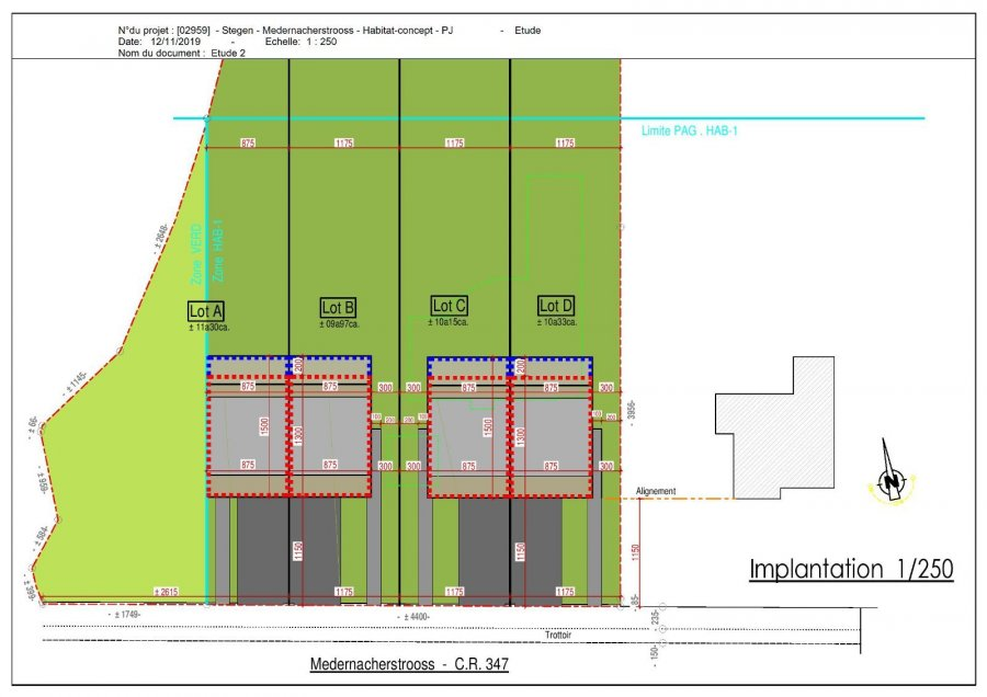 acheter terrain constructible 0 chambre 0 m² stegen photo 1