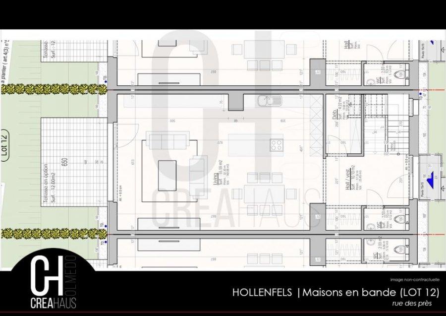 acheter maison mitoyenne 3 chambres 139.76 m² hollenfels photo 4