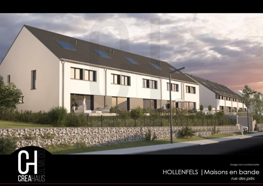 acheter maison mitoyenne 3 chambres 139.76 m² hollenfels photo 2