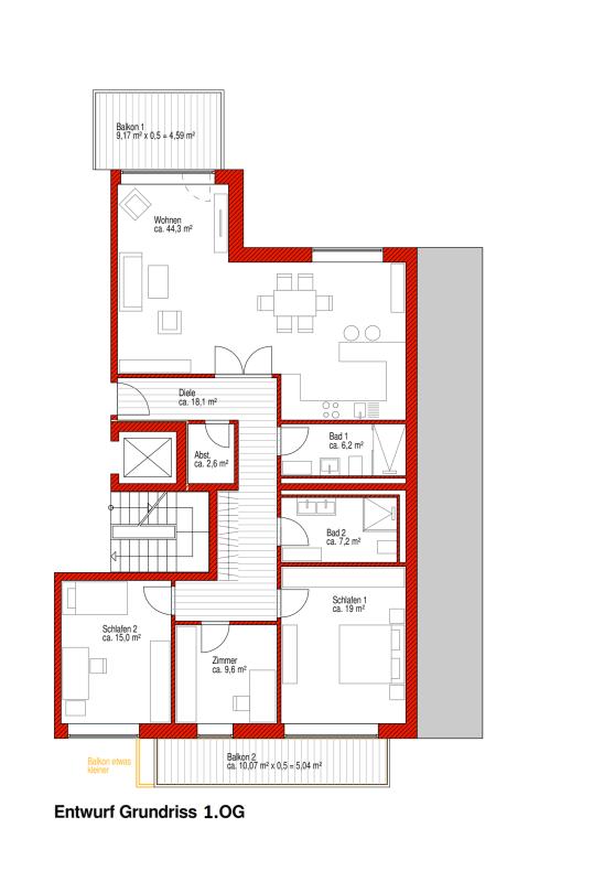 wohnung kaufen 4 zimmer 132 m² trier foto 3