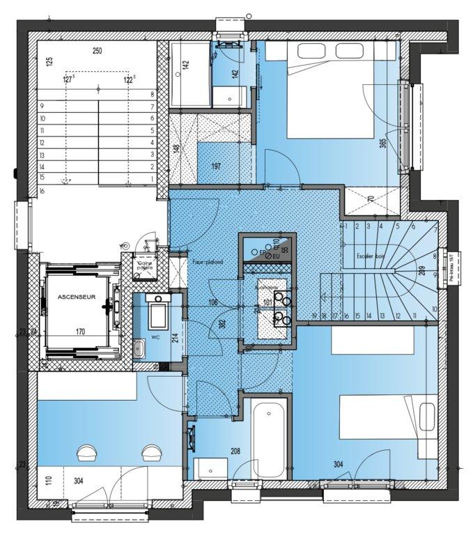 acheter duplex 2 chambres 97 m² luxembourg photo 4