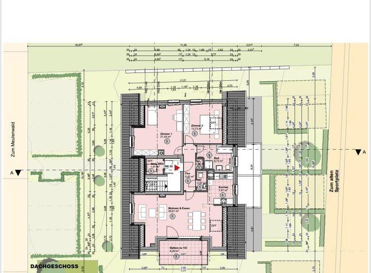 Penthouse à vendre 3 Pièces à Schweich (DE) - Réf. 7258102
