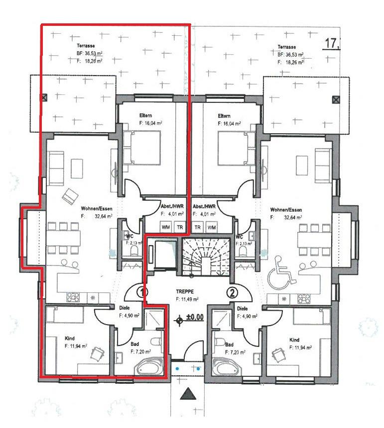 wohnung kaufen 3 zimmer 97 m² nittel foto 3