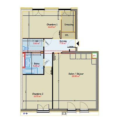 acheter appartement 3 pièces 76.8 m² metz photo 4