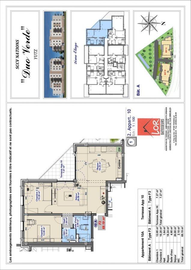 acheter appartement 3 pièces 69 m² yutz photo 3