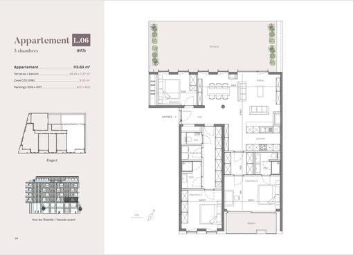 Wohnung zum Kauf 3 Zimmer in Esch-sur-Alzette (LU) - Ref. 6643463