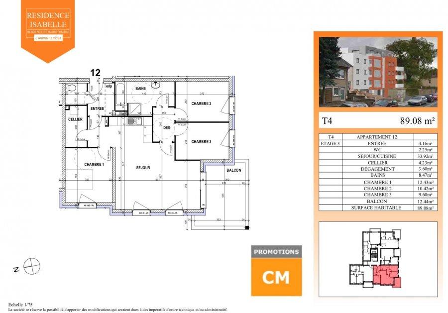 acheter appartement 0 pièce 89.08 m² audun-le-tiche photo 3