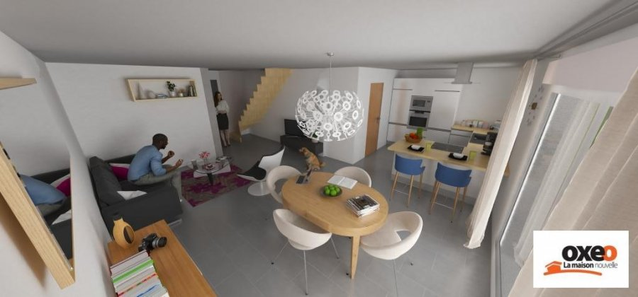 acheter maison individuelle 5 pièces 101 m² blénod-lès-pont-à-mousson photo 1