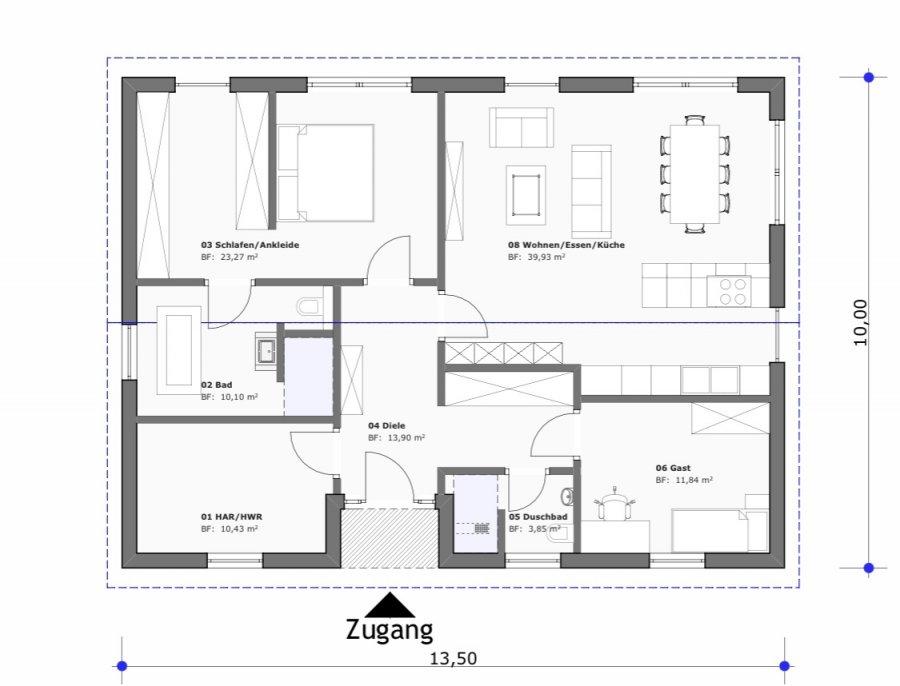 acheter bungalow 3 pièces 115 m² mettlach photo 2