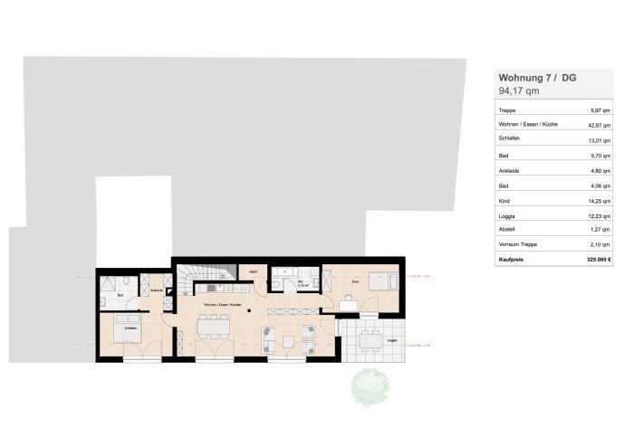 wohnung kaufen 3 zimmer 94.17 m² homburg foto 3