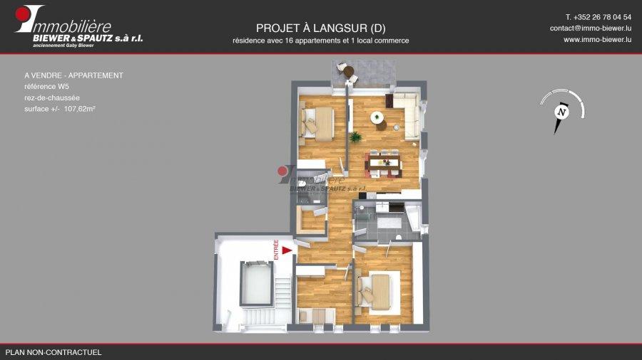 wohnung kaufen 0 zimmer 107.89 m² langsur foto 2