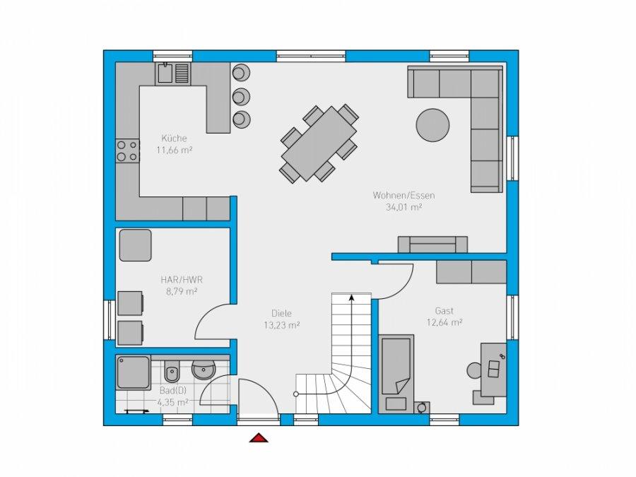 acheter maison 5 pièces 162 m² perl photo 2