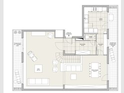 Duplex for rent 4 bedrooms in Luxembourg-Centre ville - Ref. 6989351