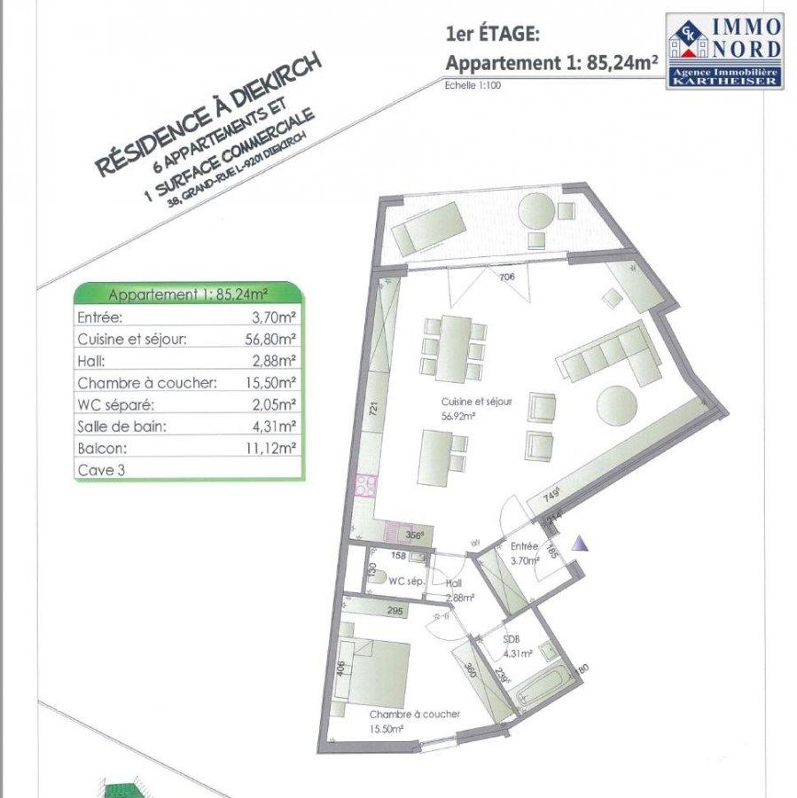 acheter appartement 2 chambres 86.96 m² diekirch photo 5