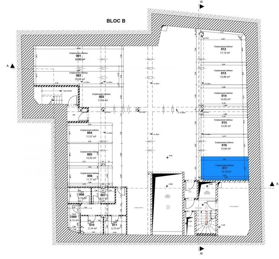acheter garage fermé 0 chambre 13.79 m² esch-sur-alzette photo 2