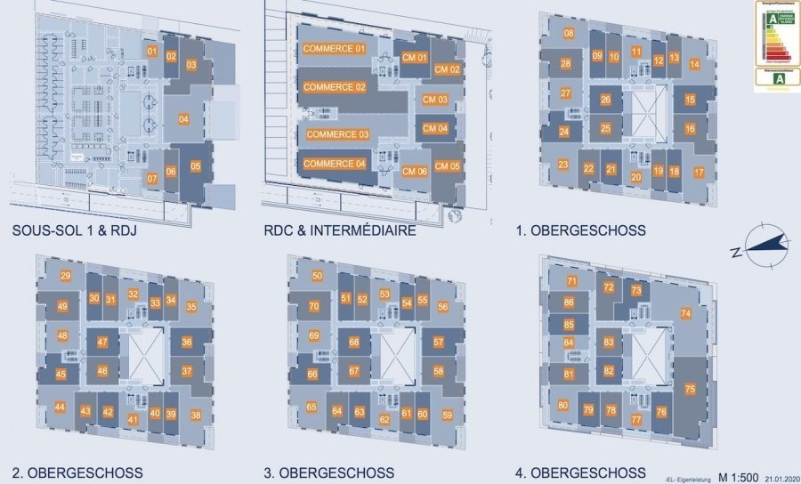 wohnanlage kaufen 0 schlafzimmer 31.3 bis 178.26 m² luxembourg foto 7