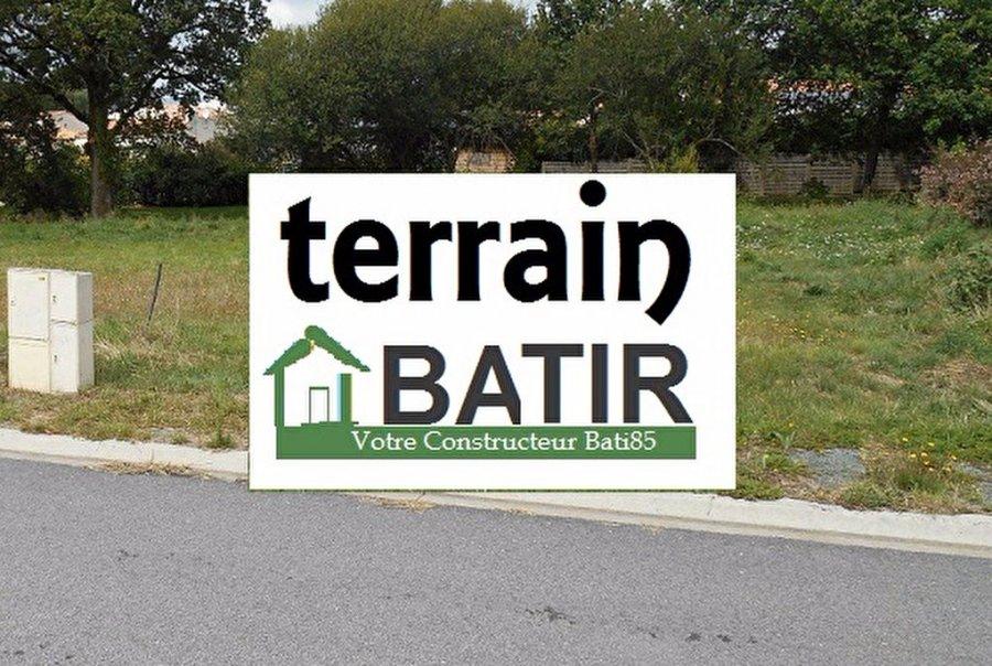 acheter terrain constructible 0 pièce 365 m² château-d'olonne photo 1