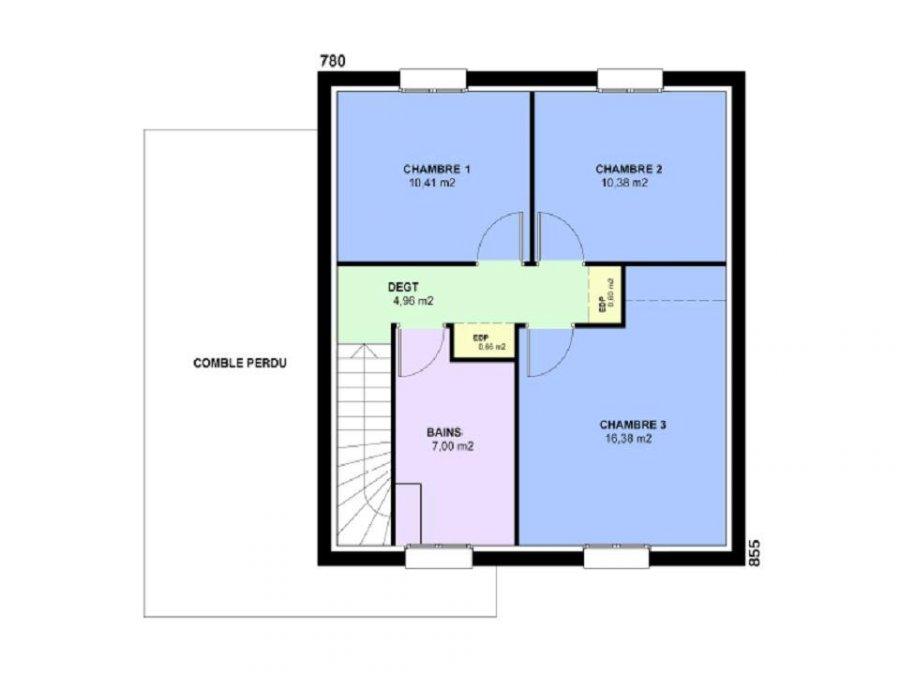 acheter maison 5 pièces 101 m² courcelles-chaussy photo 4