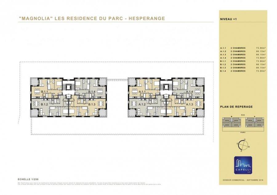 acheter appartement 2 chambres 86.15 m² hesperange photo 5