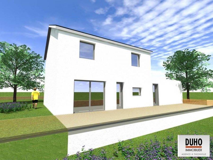 Maison individuelle en vente flastroff 109 m 210 for Acheter une maison en lotissement