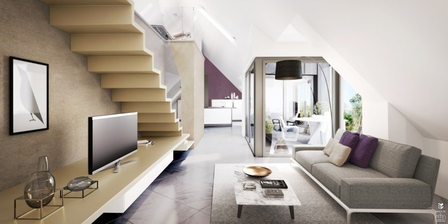acheter duplex 2 chambres 112.8 m² luxembourg photo 2