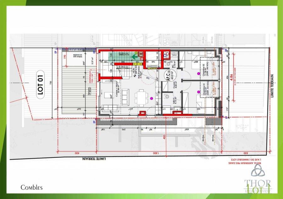acheter duplex 4 chambres 127.31 m² luxembourg photo 3