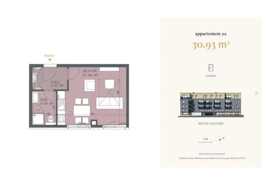 acheter studio 0 chambre 30.93 m² luxembourg photo 4