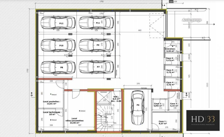 apartment for buy 1 bedroom 89.66 m² hupperdange photo 6