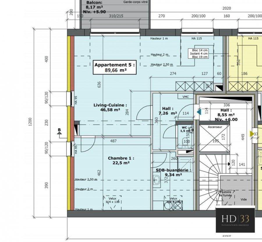 apartment for buy 1 bedroom 89.66 m² hupperdange photo 1