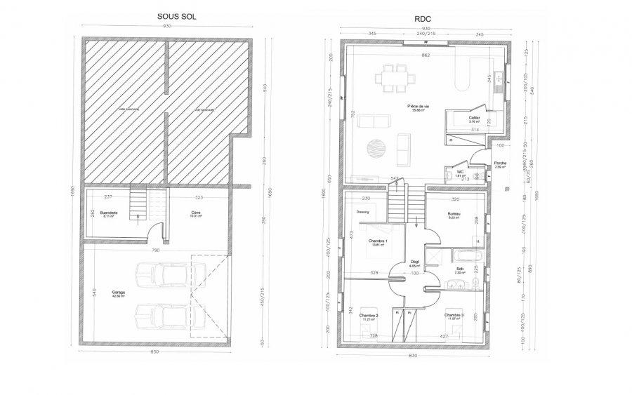 acheter maison individuelle 4 pièces 90 m² damelevières photo 2
