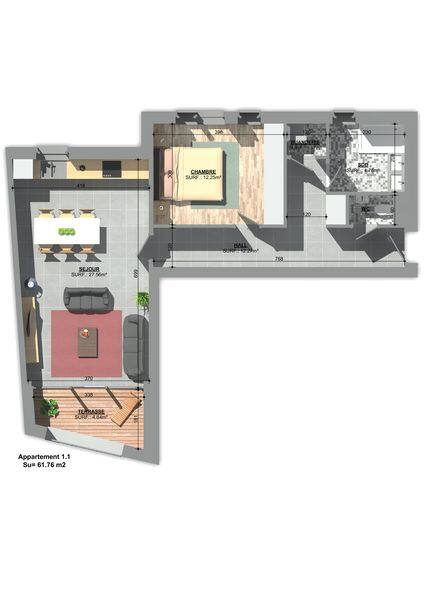 apartment for buy 0 room 71 m² huy photo 3