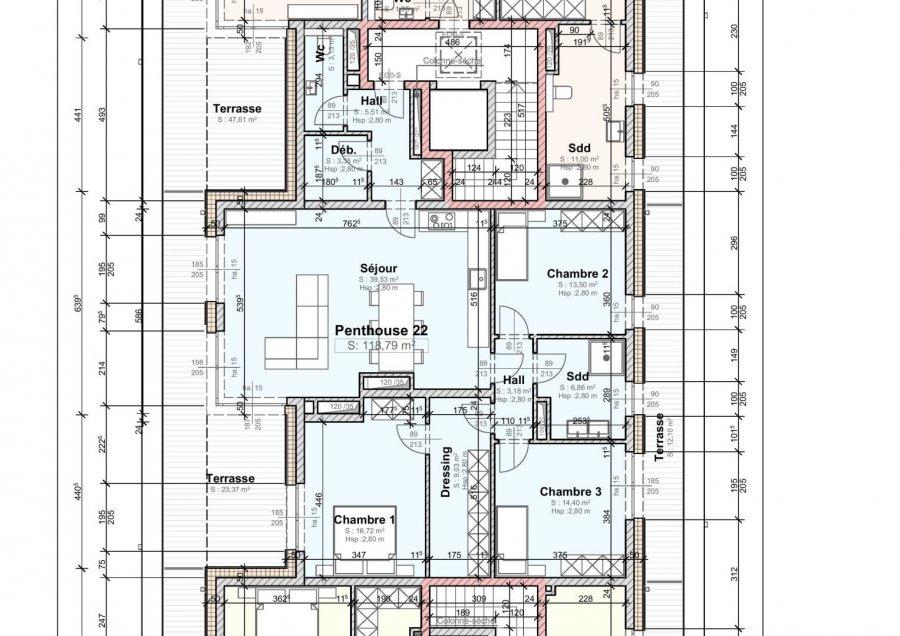 acheter appartement 3 chambres 118 m² wemperhardt photo 6