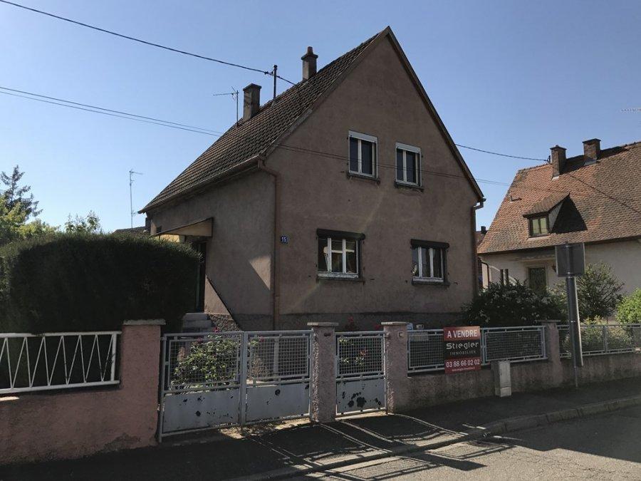 Maison individuelle à vendre F5 à Lingolsheim