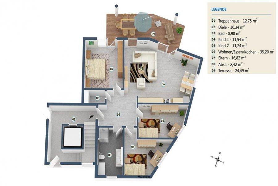 acheter appartement 4 pièces 110 m² palzem photo 1
