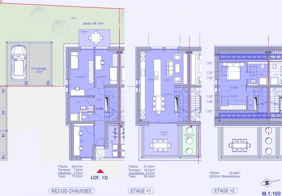 reihenhaus kaufen 4 schlafzimmer 119.27 m² niederanven foto 3