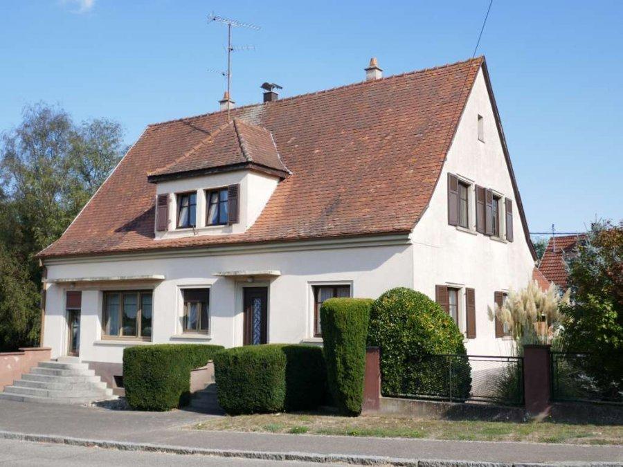 Maison à vendre F7 à à 10 minutes de Soultz-sous-Forêts