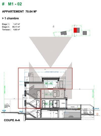 acheter appartement 1 chambre 70.64 m² bridel photo 4