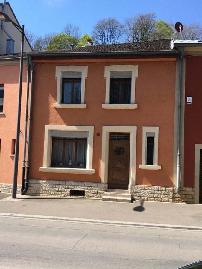 Maison mitoyenne à vendre 3 chambres à Differdange