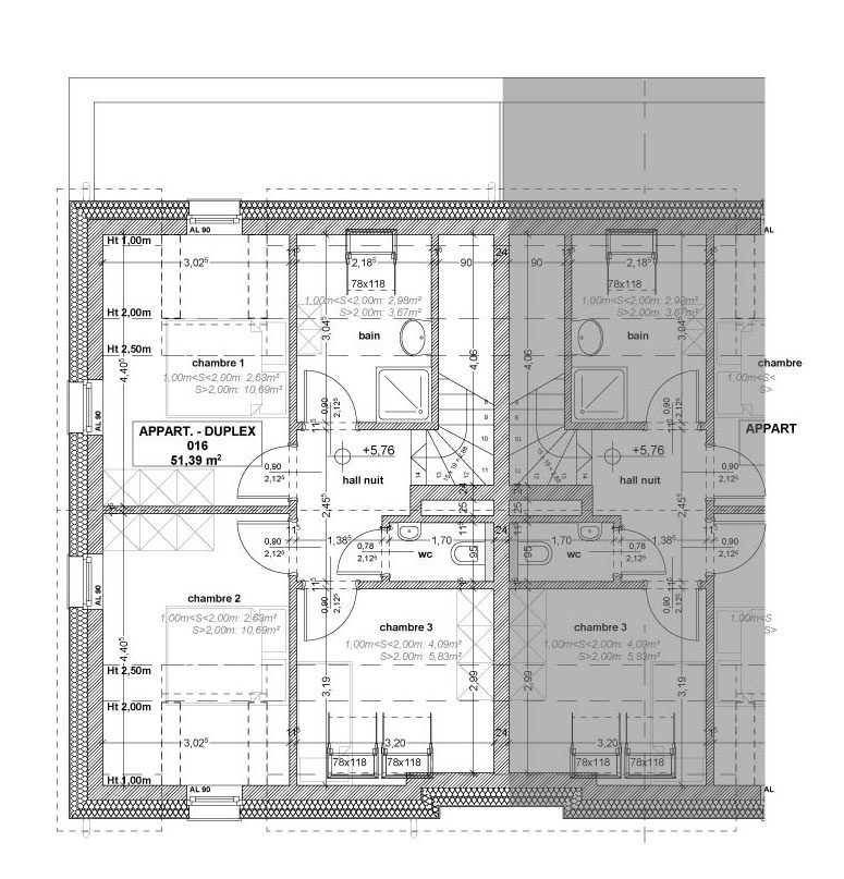 acheter appartement 3 chambres 101 m² stolzembourg photo 6