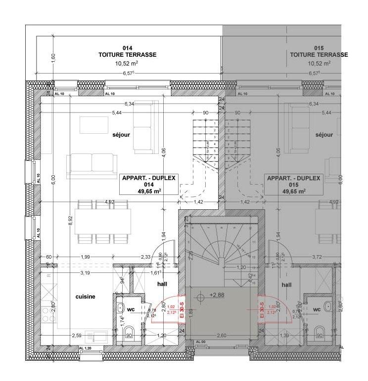 acheter appartement 3 chambres 101 m² stolzembourg photo 5