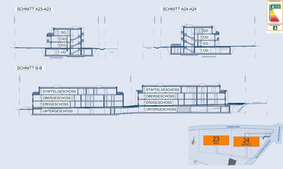 acheter appartement 2 chambres 93.22 m² bertrange photo 6