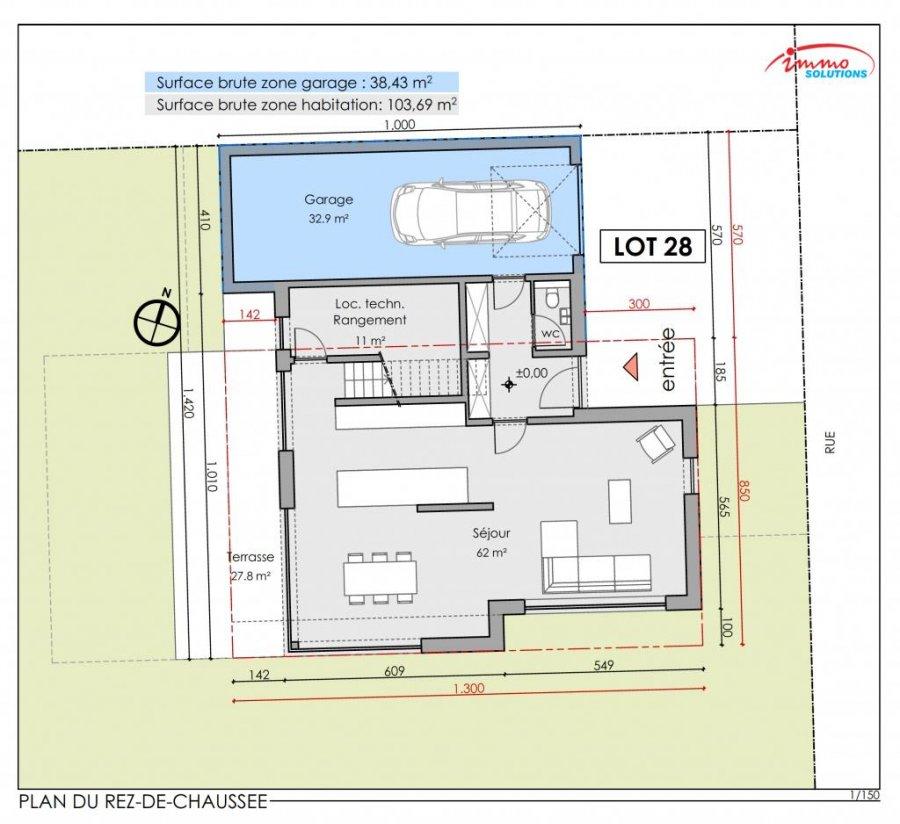 acheter maison mitoyenne 4 chambres 239.62 m² steinfort photo 7