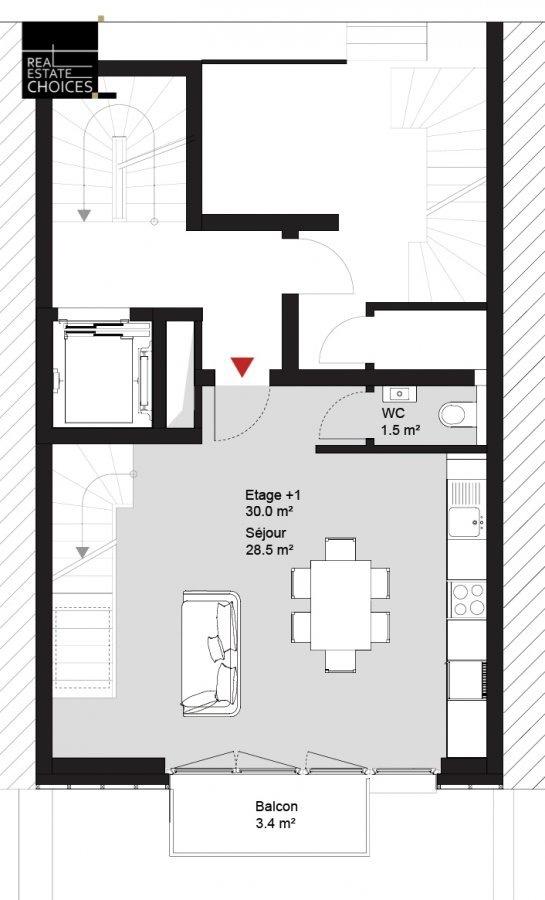 duplex for rent 1 bedroom 60 m² luxembourg photo 6
