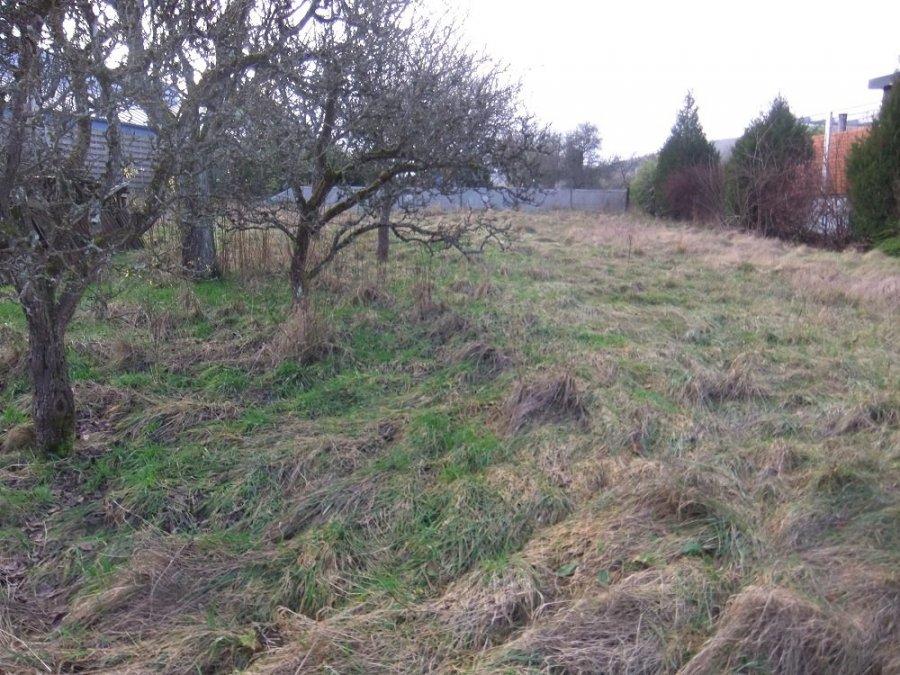 Terrain constructible à vendre à Volmerange-les-mines