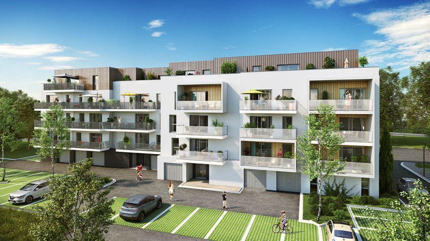 acheter appartement 2 pièces 40.21 m² thionville photo 2