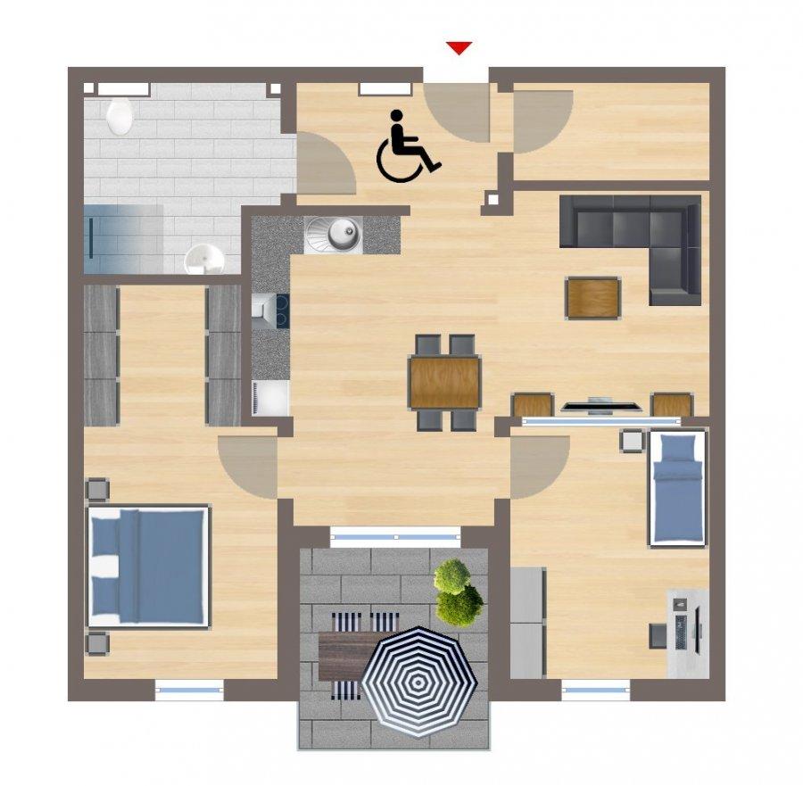 apartment for rent 3 rooms 83.63 m² echternacherbrück photo 2