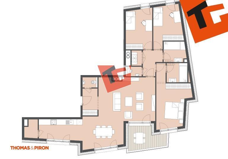 wohnung kaufen 3 schlafzimmer 123.86 m² schifflange foto 1